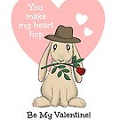 You make my heart hop by wanderingwabbit