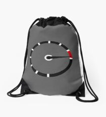 Redline - A Minimal Car Design   Drawstring Bag