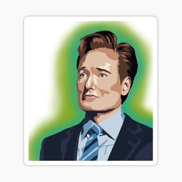 Conan O'Brien Sticker