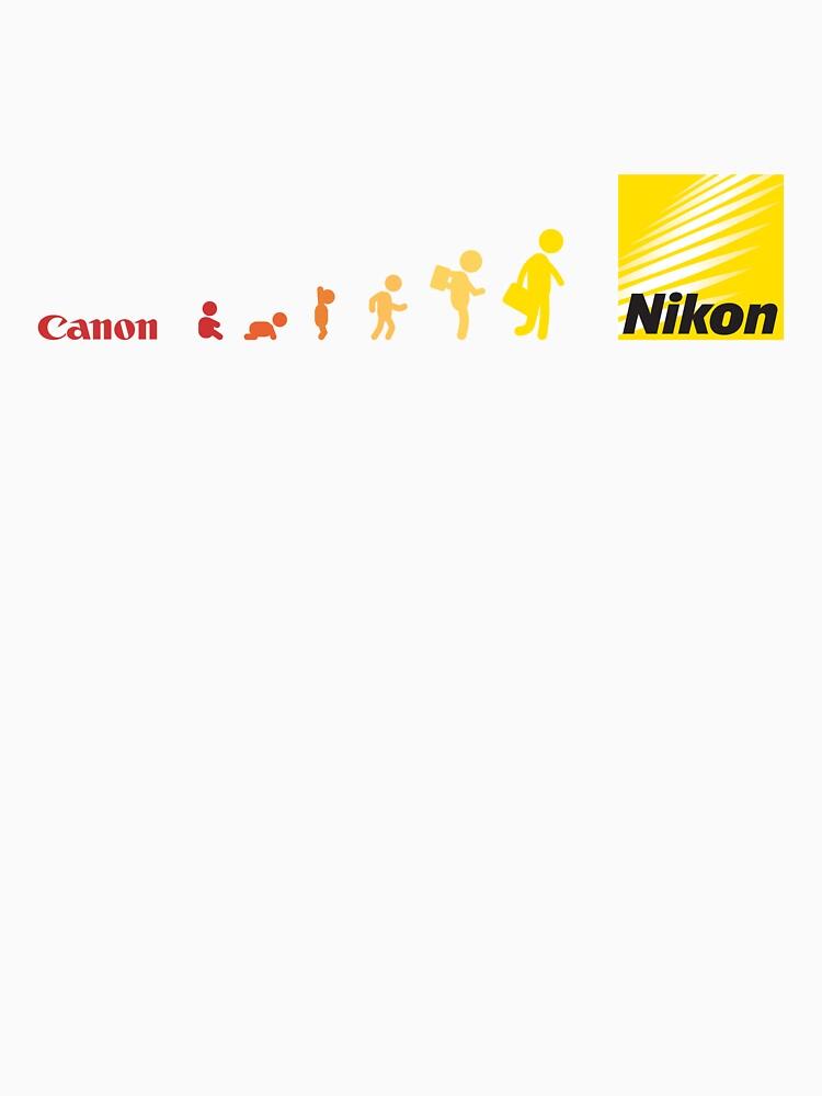 Nikon vs Canon | Unisex T-Shirt