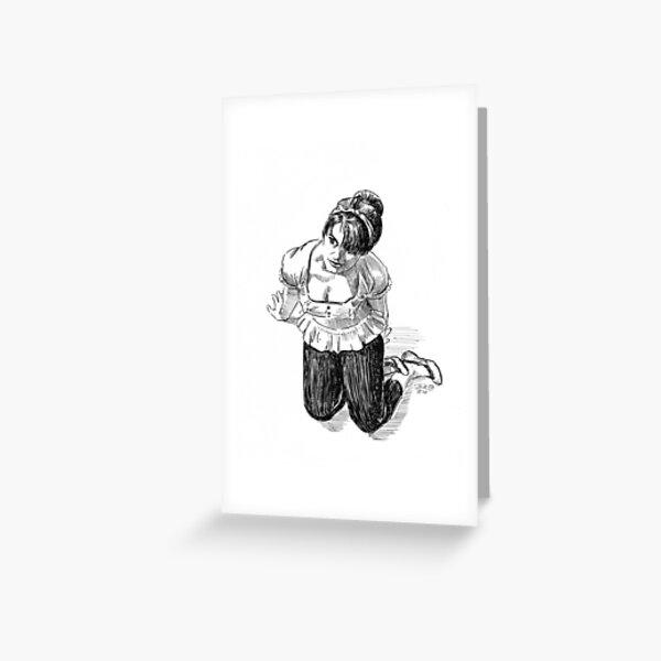 Christianna Posed Greeting Card