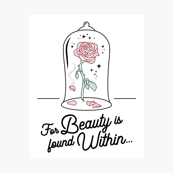 Beauty and the Beast Merchandise Photographic Print