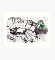 Stripped, penetrated, false imprisonment, forced drugging Art Print
