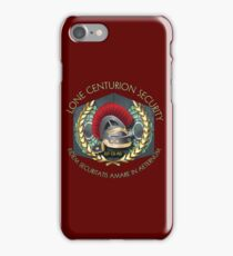 Lone Centurion Security iPhone Case/Skin