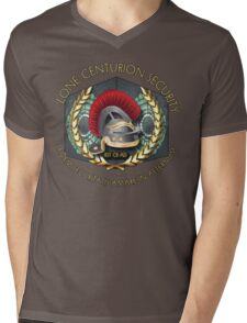 Lone Centurion Security Mens V-Neck T-Shirt