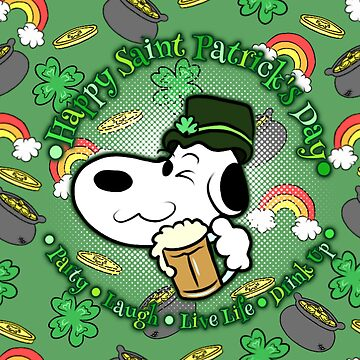 Saint Patrick's Day Beagle by Katastra