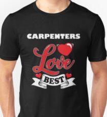 Carpenter Valentines Day Gift Idea Slim Fit T-Shirt