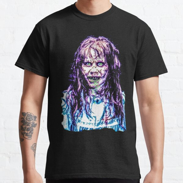 the exorcist print horror Classic T-Shirt