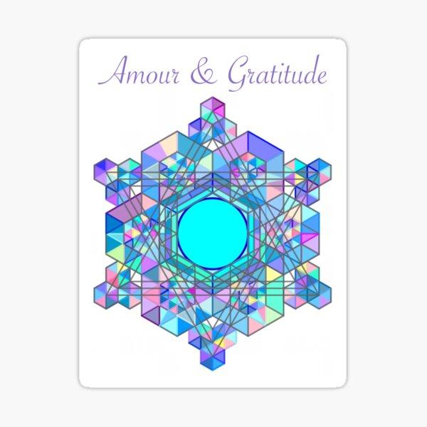 Amour & Gratitude Sticker