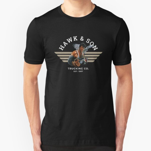 Hawk and Son Trucking Company Slim Fit T-Shirt