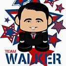 Team Walker Politico'bot Toy Robot by Carbon-Fibre Media