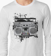 old school boom box Long Sleeve T-Shirt