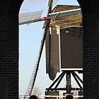 Windmill Heusden by DutchLumix