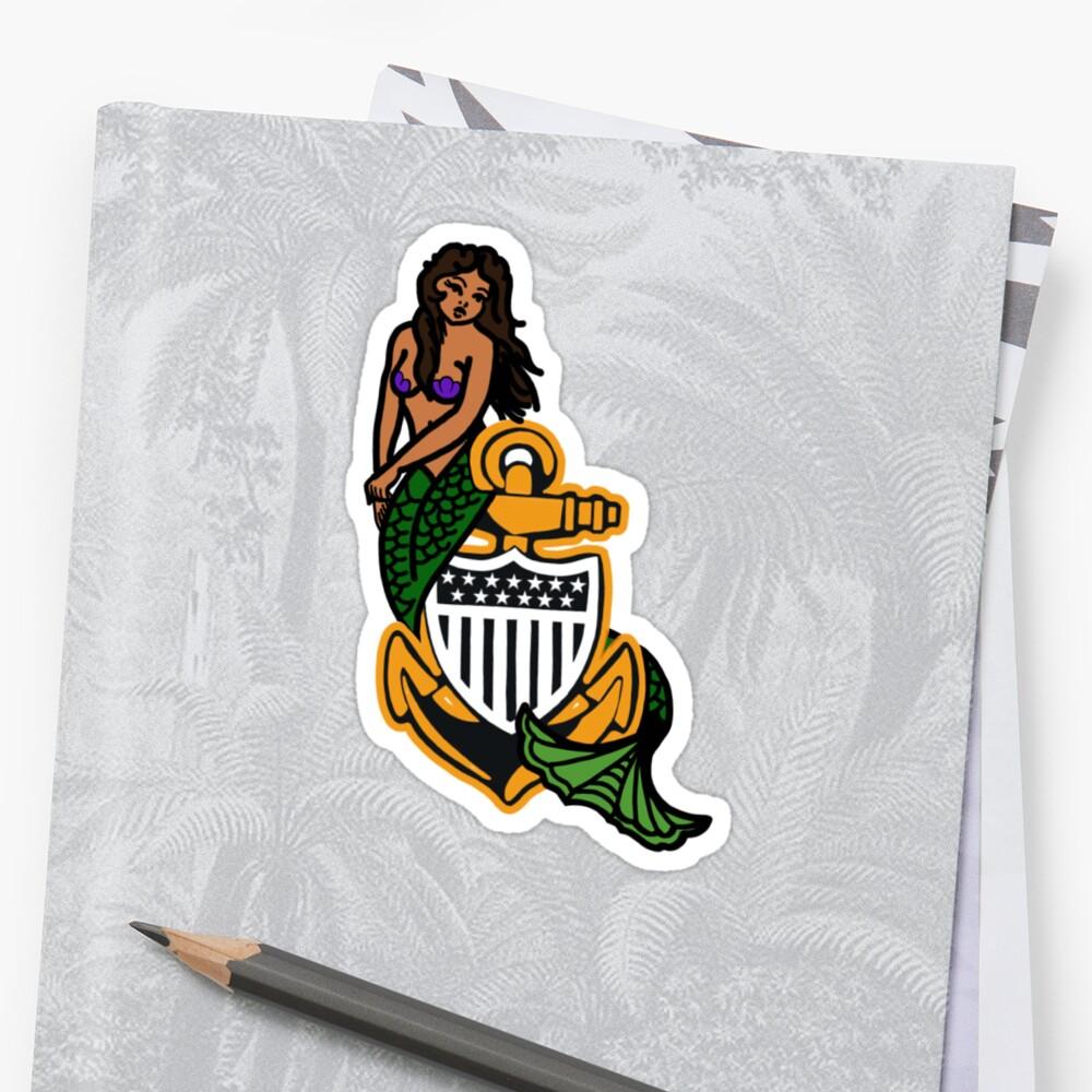 CG CPO Mermaid Sticker