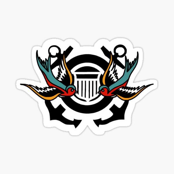CG Shield Sparrows Sticker