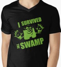 I Survived the Swamp - Black Tee T-Shirt