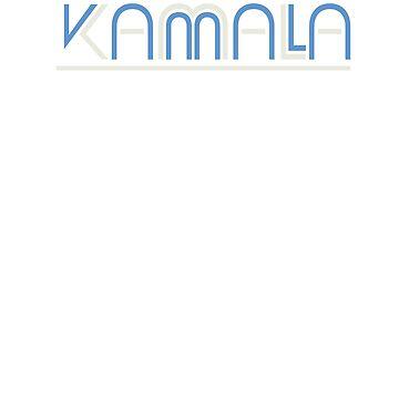 Kamala for President - Kamala Harris Tshirt - Retro letters by queendeebs