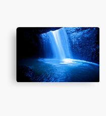 Natural Arch Blow Hole Canvas Print