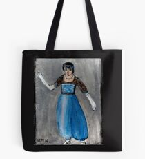 Modeling Her New Harem Outfit Tote Bag