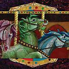 Carnival Carousel Horse Trinity  by tinaschofield