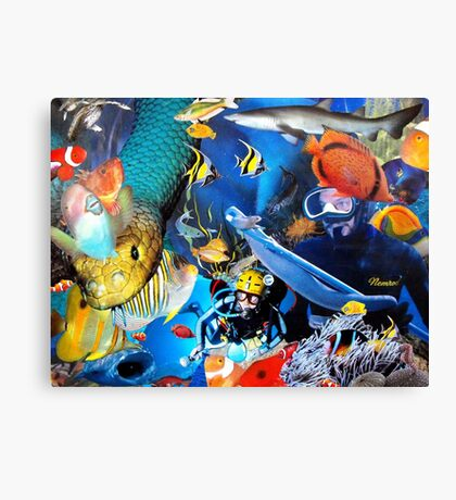 Underwater Excursion Canvas Print
