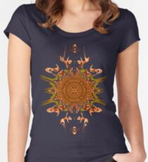 Trippy Shirt 01 Women's Fitted Scoop T-Shirt