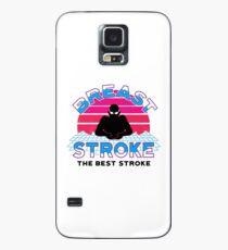 Retro Brustschwimmen Fan 2 Retro Swim Team Hülle & Skin für Samsung Galaxy