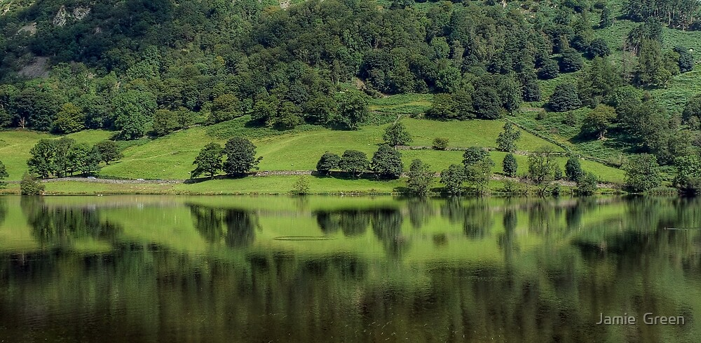 Rydal Water in August by Jamie  Green