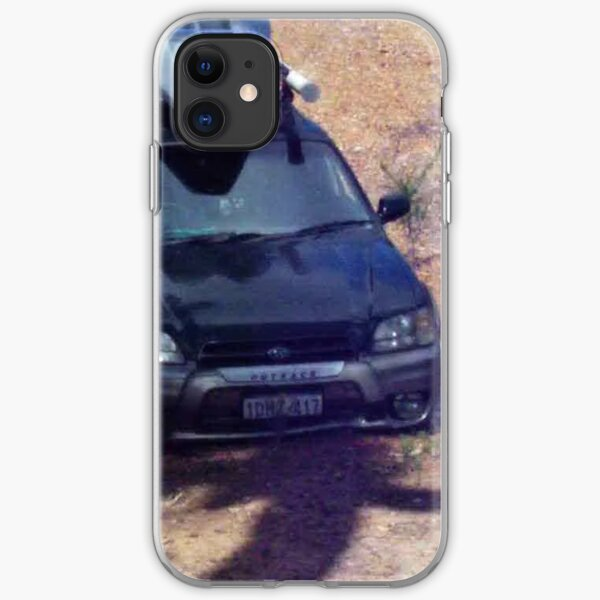 Outback creek crossing iPhone Soft Case