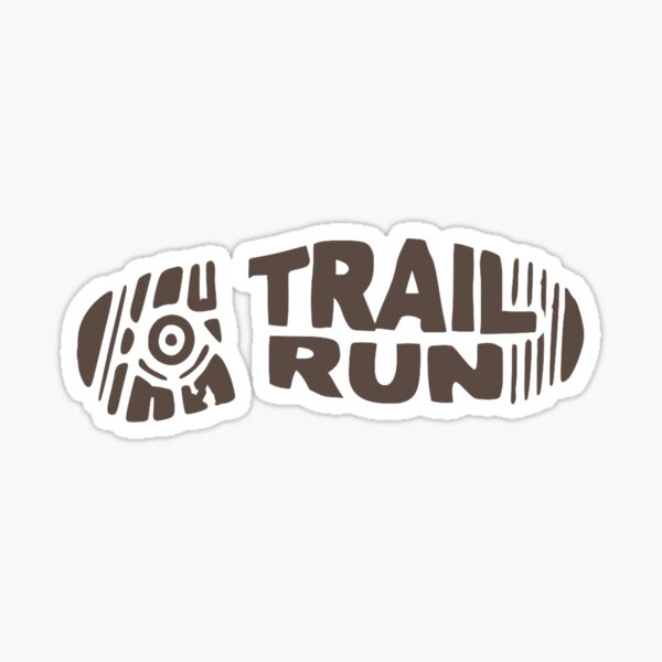 trail run Sticker