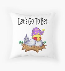 Dormir Throw Pillow