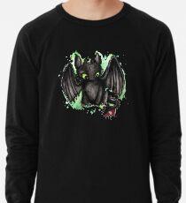 Zahnloses Aquarell Leichtes Sweatshirt