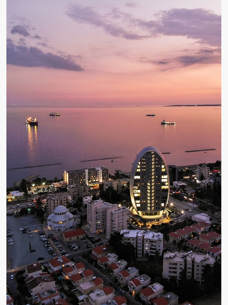 Limassol Twilight by DRONY