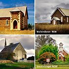 Country Churches NSW by Rosalie Dale