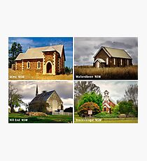 Country Churches NSW Photographic Print