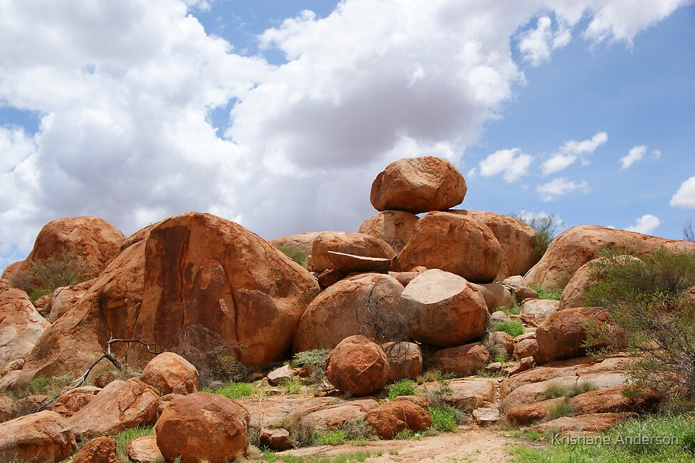 The Devils Marbles by Kristiane Anderson