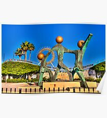 Dade County Fairgrounds Sculpture Poster