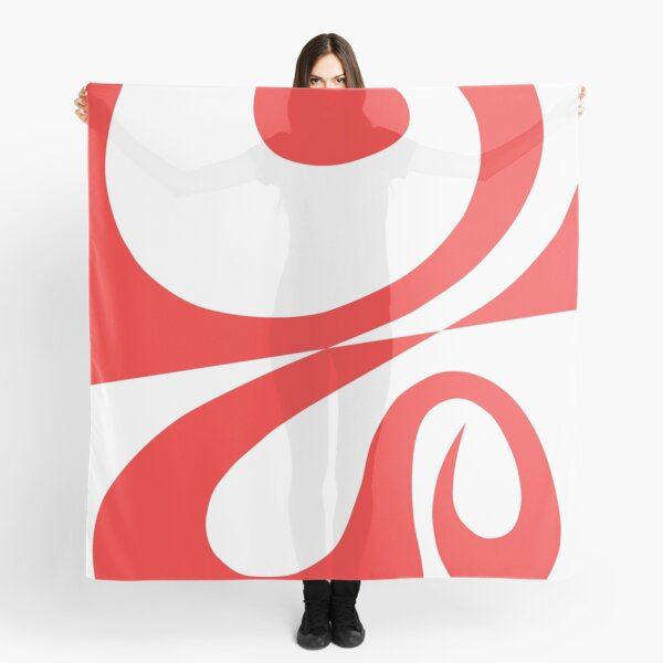 """""""Question Is Answer"""" - abstract spiral art which strives towards perfection Scarf"""