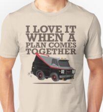 Camiseta ajustada El equipo A es el mejor equipo