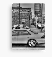 untitled BW HDR Canvas Print