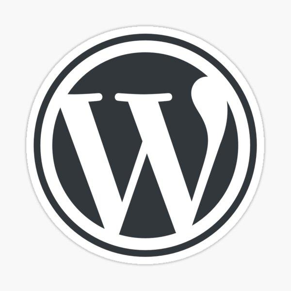 WordPress Sticker