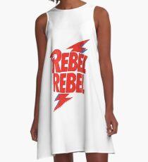 Rebel Rebel Bowie A-Line Dress