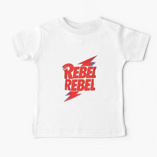 Rebel Rebel Bowie Baby T-Shirt