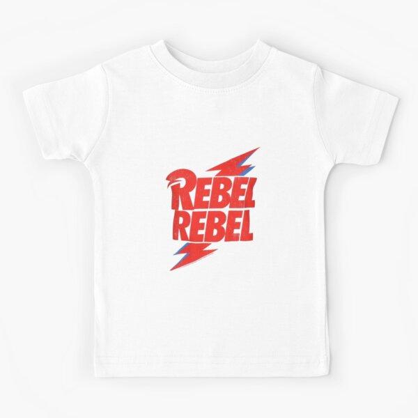 Rebel Rebel Bowie Kids T-Shirt