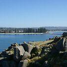 Granite Island to Victor Harbor, South Australia ii by BronReid