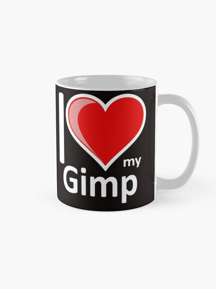 Alternate view of Rude - I Love My Gimp Mug Secret Santa Gift Mug