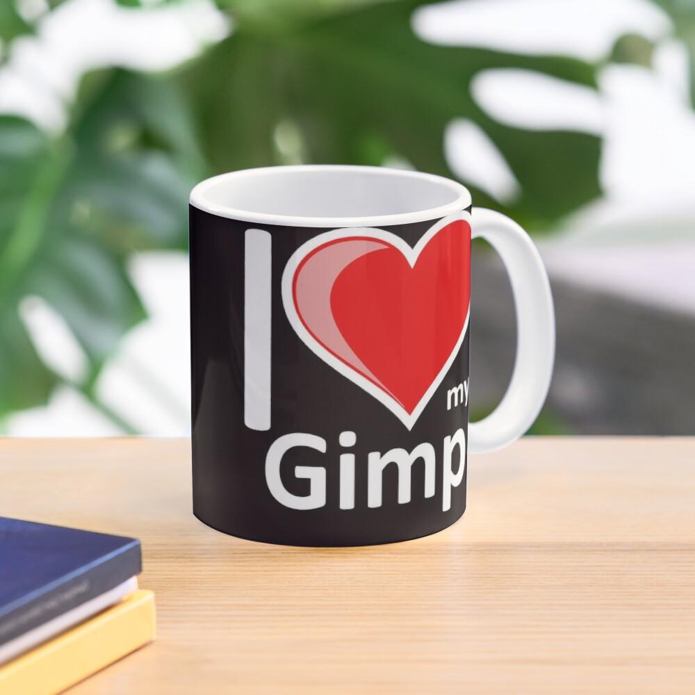 Rude - I Love My Gimp Mug Secret Santa Gift Mug
