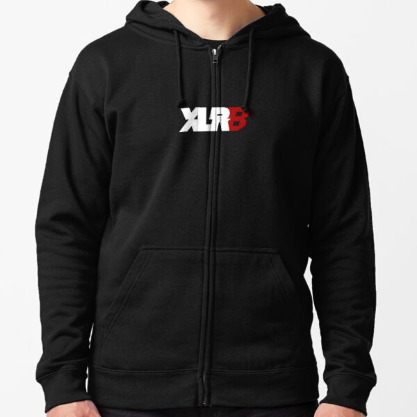 Accelerate (XLR8) - Design For Racing Fans Zipped Hoodie