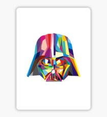 Poper breathing with Darth Vader Sticker