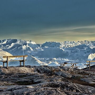 View of the glacier by IrisHeuer